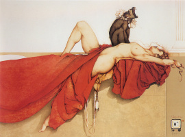 Michael Parkes. Cleopatra