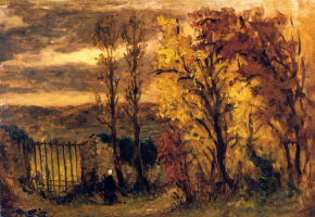 Эжен Делакруа. Осенний пейзаж, Шамрозе