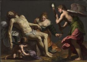 Алессандро Турчи. Оплакивание тела Христова