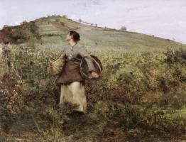 Жюль Бастьен-Лепаж. Сбор урожая