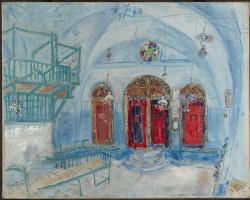 The Synagogue at Safad, Israel