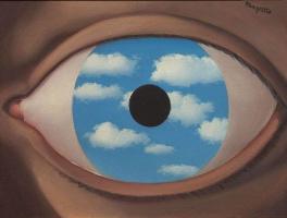 René Magritte. Distorting mirror