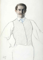 Lev Samoilovich Bakst (Leon Bakst). Self-portrait