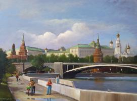 Сергей Николаевич Соловьёв. Прогулка по Москве