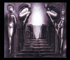 Ганс Рудольф Гигер. Прохождение храма - путь мага