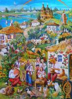 Эвелина Бекетова. Село Синица  Киевской области