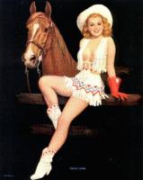 Уолт Отто. Девушка с лошадью