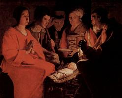Жорж де Латур. Поклонение