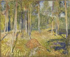 Эдвард Мунк. Сосновый лес