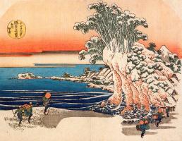 Katsushika Hokusai. Sodegaura