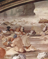 Аньоло Бронзино. Переход израильтян через Красное море