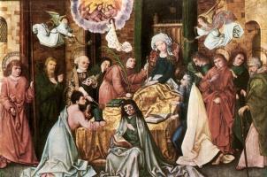 Hans Senior Holbein. Death Of The Virgin