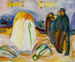 Edvard Munch. Meeting