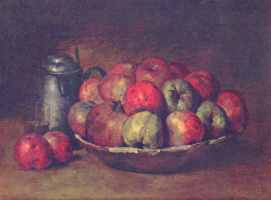 Gustave Courbet. Apples and pomegranates