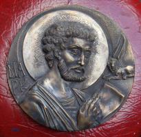 Евангелист Марк, бронза, 2010г