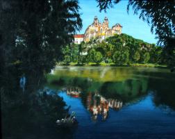 Lyudmila Nikolaevna Yevtushenko. The Abbey at Melk Abbey on the Danube