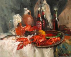 Александр Владимирович Горбиков. Пиво и раки