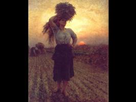 Жюль Бретон. Закат солнца