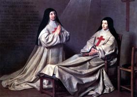 Филипп де Шампень. Мать Катрин Аньес Арно и сестра Катрин де Сент-Сюзан