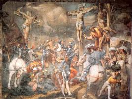 Джованни Антонио Порденоне. Три креста