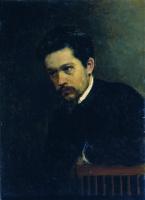 Николай Александрович Ярошенко. Автопортрет. 1895