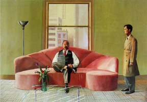 David Hockney. Christopher and Henry
