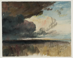 Joseph Mallord William Turner. Storm clouds looming