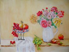 Gulnara Matyukhina. Flowers and fruits