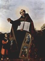 Франсиско де Сурбаран. Свв. Роман и Барул Антиохийский