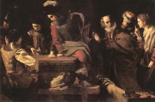 Никола Турнье. Отказ Святого Петра