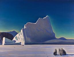 Рокуэлл Кент. Охотник на тюленей. Северная Гренландия