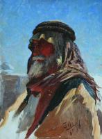 Николай Александрович Ярошенко. Бедуин. 1896 Этюд.
