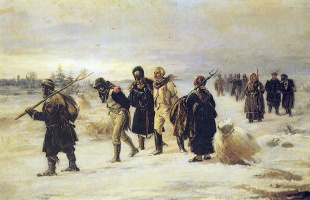 Illarion Mikhailovich Pryanishnikov. In 1812
