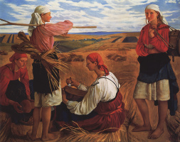 Zinaida Serebryakova. The harvest