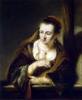 Фердинанд Балтасарс Боль. Молодая женщина у окна