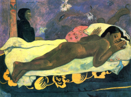 Paul Gauguin. The spirit of the dead does not sleep