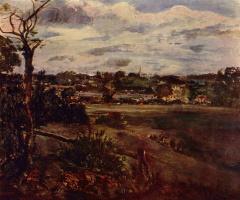 Джон Констебл. Вид на Хайгет с Хэмпстедских холмов