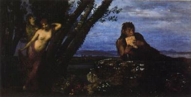 Arnold Böcklin. Darkness