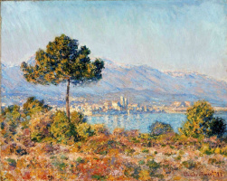 Claude Monet. Antibes. The view from the plateau Notre-Dame
