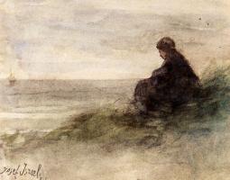 Йозеф Исраэлс. В ожидании возвращения рыбаков