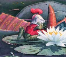 Чарльз Сантор. Цветок лотоса
