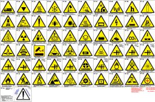 "Arthur Gabdrupes. ""Image"": ""Sign""; ""Warning"". PS '' Directory ''."