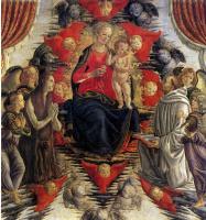 Франческо Боттичини. Мадонна с младенцем и Святой Марией Магдалиной