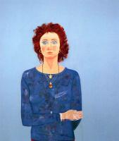 Джон Джордж Браун. Женщина в синем