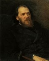 Иван Николаевич Крамской. Портрет Я. П. Полонского