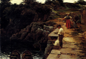 Валентин де Зубиарр. Рыбалка