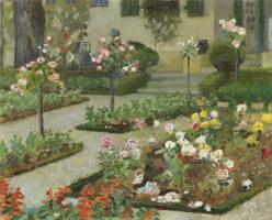 Куно Амье. Розовый сад