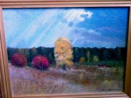 Nikolay Dmitrievich Pushkarev. Autumn in Pushkari