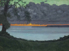Felix Vallotton. Sunset