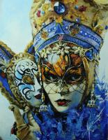 Ольга Шацкая. Венецианский шут с маской